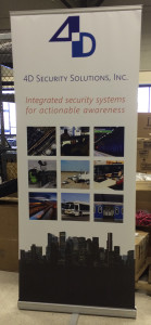 Floor Banner for tradeshow display