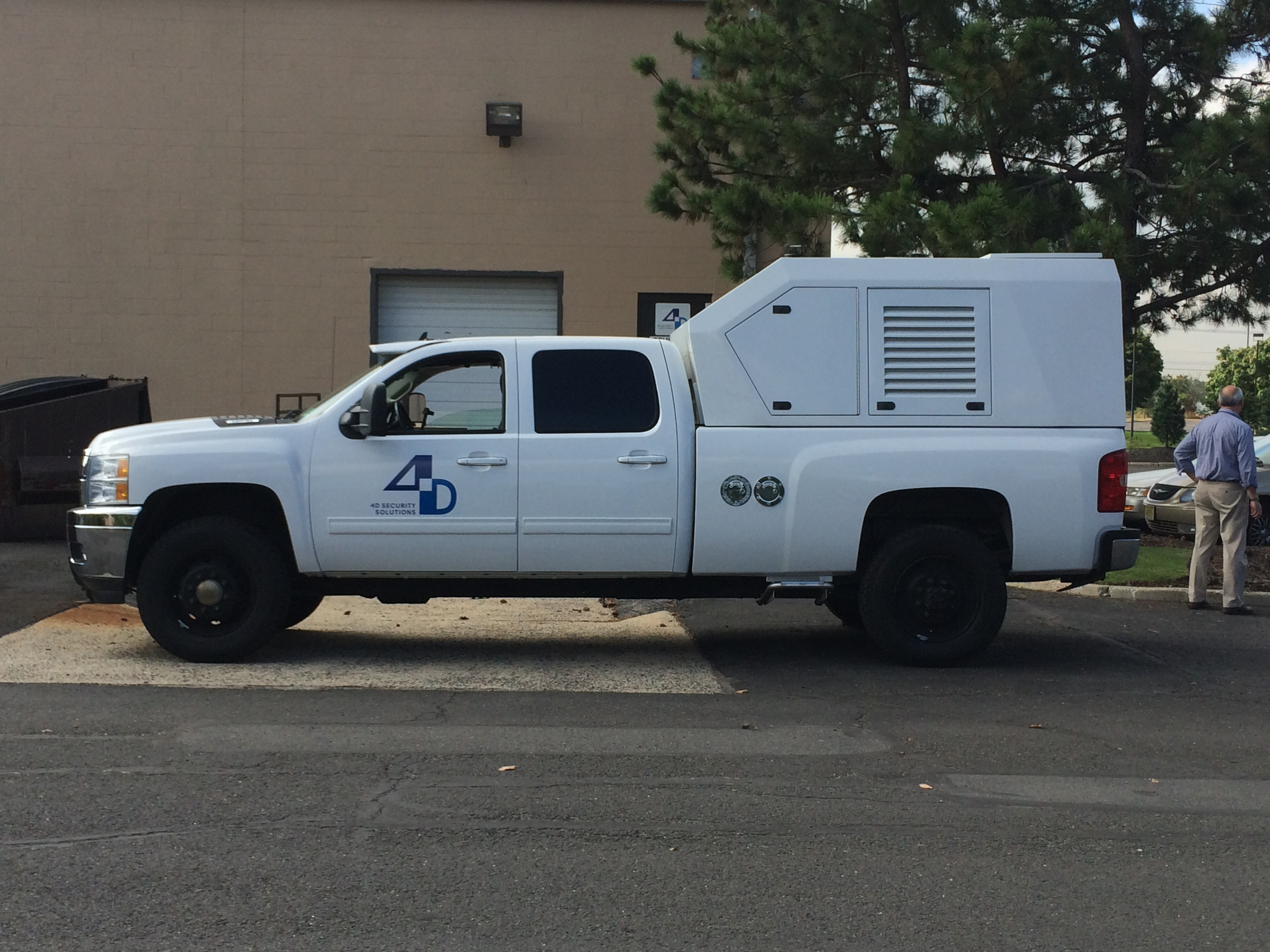 Mobile Surveillance Unit
